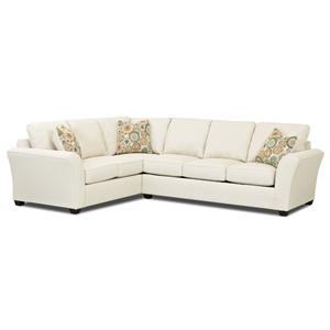 klaussner loomis sectional sofa 2 piece sofas sectionals store - dealer locator